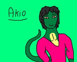 New OC Akio by SwedenGirl