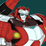 Transformers MTMTE Red Alert Quickie by chibigingi