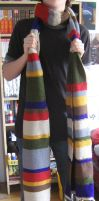 4th Doctor's Scarf by Uta-No-Jiyu