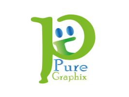 pure graphix logo by moslima