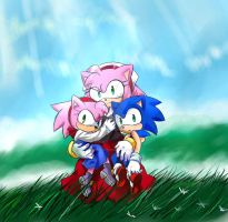 Hedgehog Children by GaruGiroSonicShadow