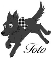 Toto by GothicDorothy