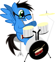 Drumstick (OC Request) by TheShadowStone