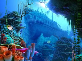Coral reef 1 by indigodeep