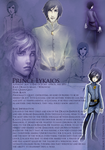 OCProfile: Lykaios by Endorell-Taelos
