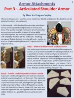 Articulated Shoulder Armor - Page 1 by SilverIceDragon1