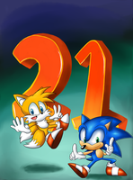 HAPPY BIRTHDAY SONIC! by Geemoney1022