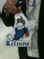 KITSUNE BADGE!!! by xXLostPaintingsOx