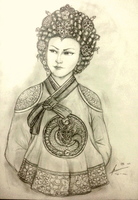 Hwang Aerye of Jima Dynasty by Gambargin