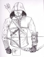 Green Arrow Ink by CJRogue