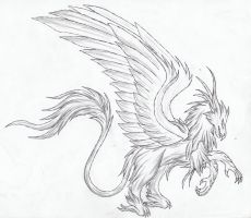 gryphon by dakuness