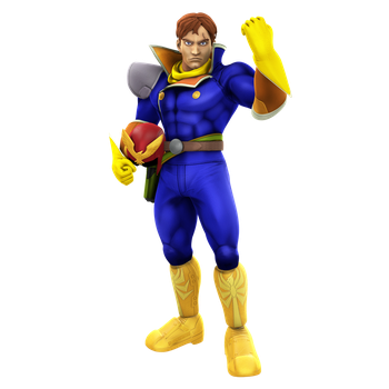 Captain Falcon Render Helmet-less Alt by Nibroc-Rock