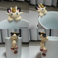 Meowth Mug by ChibiSilverWings