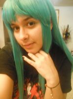 Morrigan Wig Progress by starfire12mangaka