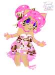 Neapolitan Carrousel Dress by PaintHerDream