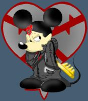 Heartless Mickey by Duckboy