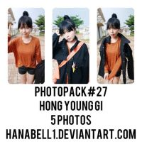 Photopack#27 Hong Young Gi by HanaBell1