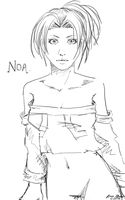 Realistic Noa Sketch by rose-star