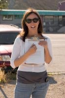 Colleen Wheeler with Clipboard - Edited by CliffEngland