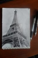 Eiffel tower by NastyaBurenkova