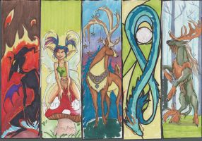 Lovely bookmarks by mialythila