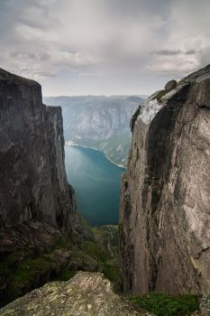 View to Lysefjorden by Argonavis