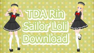 TDA Rin Sailor Lolita Download by Yuu2002