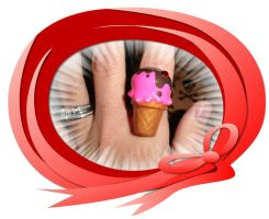 Ice Cream Cone Ring by pcmommy2b