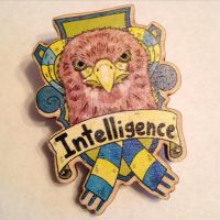 Ravenclaw House Crest Brooch by Tom-Draws