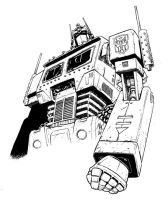 Commander aka Optimus Prime by gianmac