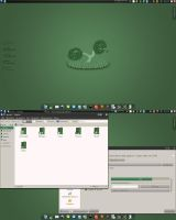 Greenay Desktop by Untergunter