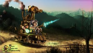 Steampunk Tank by Adisiat
