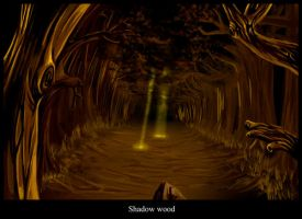 Shadow Wood by highdarktemplar
