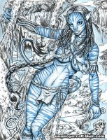 Neytiri pencils by gb2k