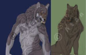 Unfinished WIPs by Atan
