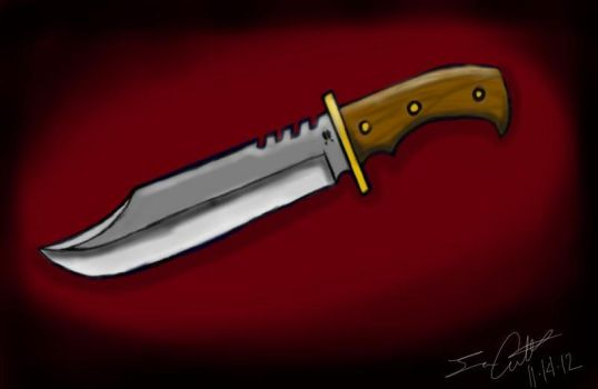 a more detailed version of my knife by cut2892