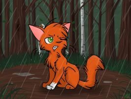 Squirrelflight Chibi by SunniMutt