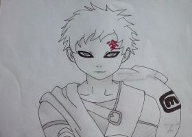 Naruto - Gaara Sabakuno (4) by Love-Piece-Hope