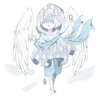 Frost Angel (CLOSED) by Aiko-Adoptables