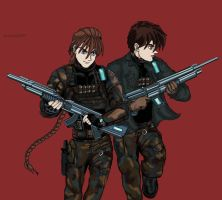 Soldier boys by kracken