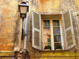 Window in Nice by parallel-pam