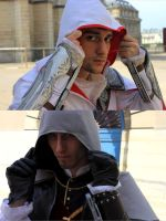 Men in Hoods by S-Seith