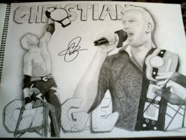 Christian Cage by remizart