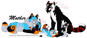 Wolf Family Adopts :OPEN: by Chishikon