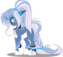 Icy wind data pony [AUCTION]paypal/points[CLOSED] by BlackFreya