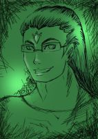 Jhon in Green by Nee-Jaku