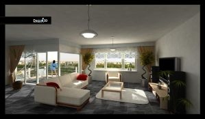 LIVING ROOM - DEZZ3D:NET by achtung18