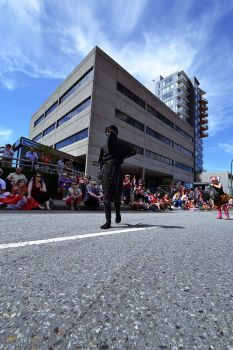 North Vancouver Canada Day Parade 2014 - Ninja by Hxes