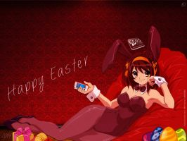 FFOS Club Easter Anime Wallpaper by quen-quen