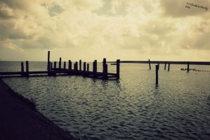 a place at island Texel. by VlinderButterfly